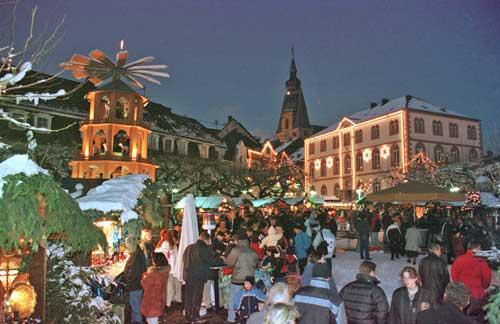 Weihnachtsmarkt 2011 in Sankt Wendel, alles auf einen Blick!