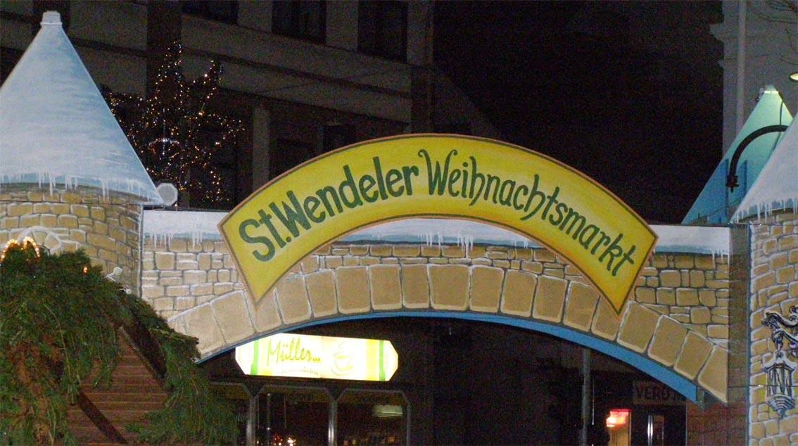 Der Weihnachtsmarkt in 66606 St. Wendel, ein Erlebnis für alle Sinne!